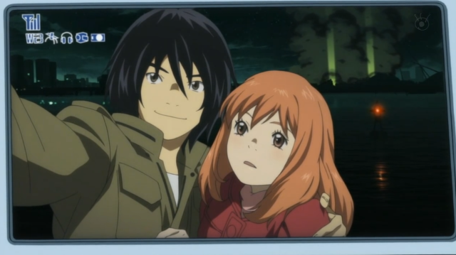 Eden of the East Akira and Saki